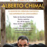 Escritor mexicano Alberto Chimal en Lima