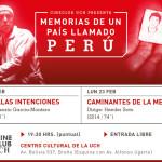 MEMORIA CINEMATOGRÁFICA DE UN PAÍS LLAMADO PERÚ