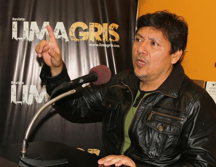 Javier Arévalo. Foto: Jorge Gómez Vásquez.