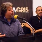 """Carlos Fernández y Eduardo Quispe """"Entre la gente de cine hay mucho egoísmo"""""""