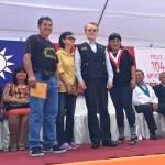 Taiwán dona motofurgonetas a ronderos de San Martín