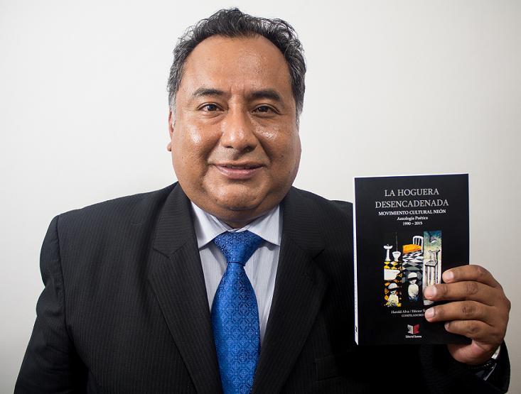 Héctor Ñaupari. Foto: Jorge Luis Gómez.