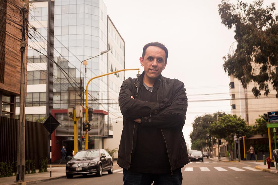 Alberto Chimal. Foto: Edwin Cavello.