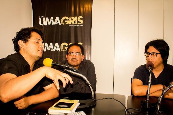 Christian Espinoz, Juan Carlos Cavero y Joe Ilijimae.