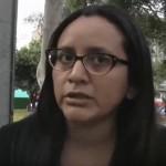 """Natalia Osco: """"Tarata fue un hecho político"""""""