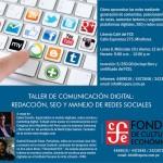 """""""Taller de Comunicación Digital"""" en el Fondo de Cultura Económica"""