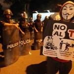 CÓMO CUBRIERON LOS MEDIOS  LA MARCHA DEL TPP