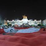 Cien mil personas marcharon contra Keiko Fujimori en Lima