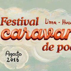 Caravana de poesía recorrerá Lima y Huancavelica