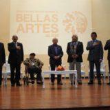 Bellas Artes celebró sus 98 años y rindió homenaje a la promoción de oro