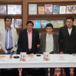 """Miguel Arribasplata presentó su novela """"Santiago el menor"""" en el FCE"""
