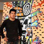 """EXPO: """"SANTOS""""  Neoexpresionismo en las pinturas de Marcos Palacios"""