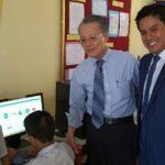 TAIWÁN DONA COMPUTADORAS AL COLEGIO DANIEL ALCIDES CARRIÓN DE SJL