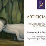 """Julio Cotrina inaugura  """"Artificialeza"""" en el Centro Colich"""