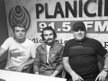 Edwin Cavello Limas, Hans Herrera y Luis Felipe Alpaca.