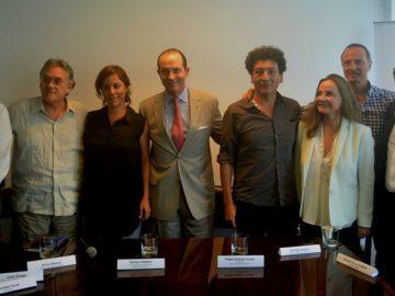 Jaime Bedoya, Armando Andrade, Denise ledgard, Antony Custer, Rodrigo Quijano, Susana de la Puente y José Orrego