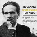 Homenaje a César Vallejo por sus 125 años