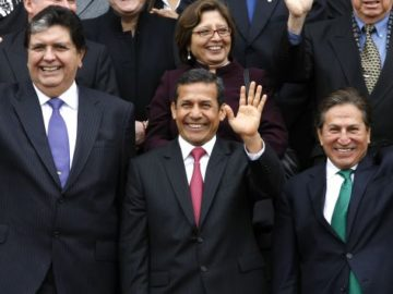 PRESIDENTE SE REUNE CON LIDERES POLITICOS EN ACUERDO NACIONAL REALIZADO EN PALACIO DE GOBIERNO.