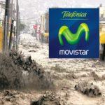 Movistar se aprovecha de los desastres naturales para vender sus promociones