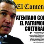 NUEVO ATENTADO CONTRA EL PATRIMONIO CULTURAL DE LA NACIÓN