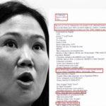 Fiscalía blinda a Keiko Fujimori